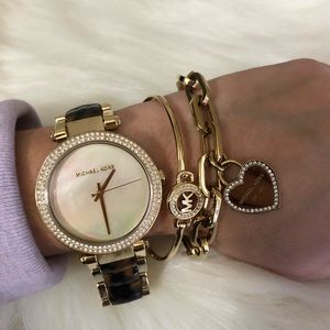 Brand New Michael Kors Two Toned Women's Watch